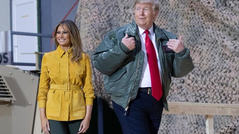 Bliski Wschód. Niespodziewana wizyta prezydenta USA Donalda Trump w Iraku