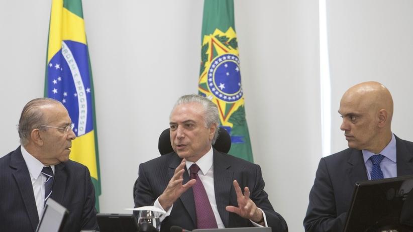 Prezydent Brazylii Temer oficjalnie oskarżony o przyjmowanie łapówekt