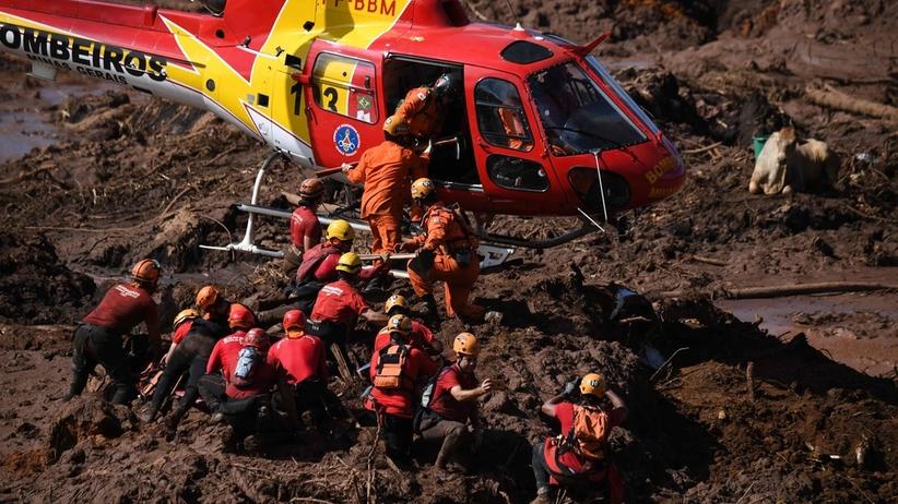 Setki ewakuowanych. Groźba zawalenia się kolejnych zapór wodnych w Brazylii