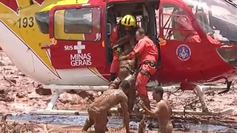 Wypadek w kopalni rudy żelaza w Brazylii. Blisko 200 zaginionych [WIDEO]