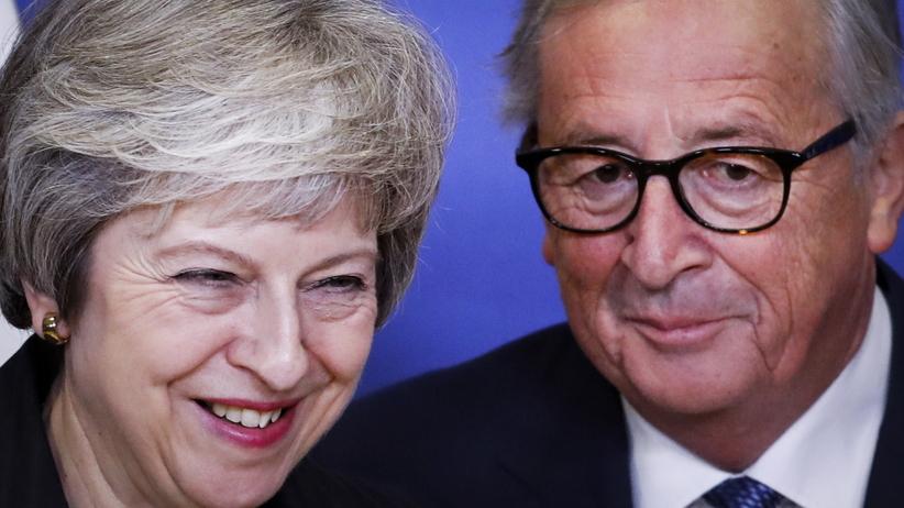 Brexit. Spotkanie Theresy May i Jeana-Clauda Junckera na temat negocjacji