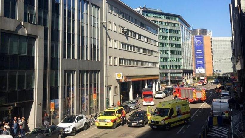 Alarm bombowy w Brukseli. Trwa ewakuacja. Służby przygotowują się na możliwą eksplozję