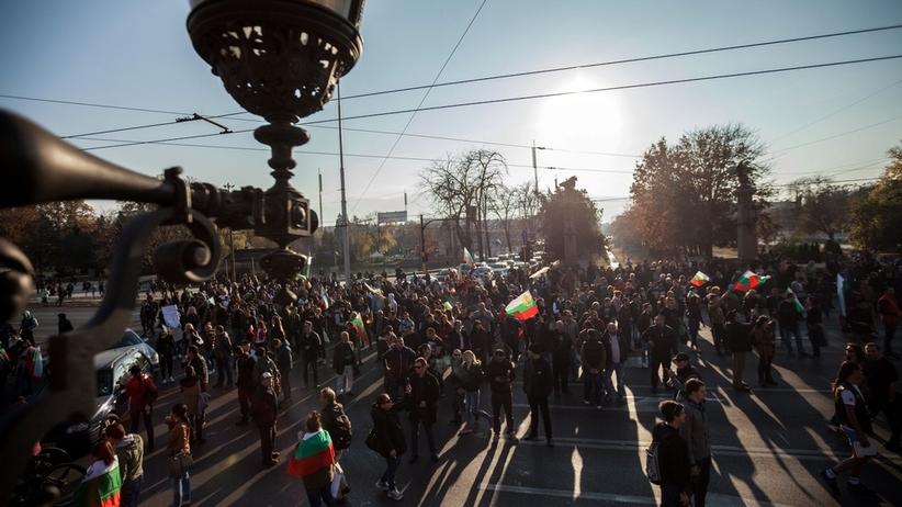 Protesty w Bułgarii: wicepremier podał się do dymisji