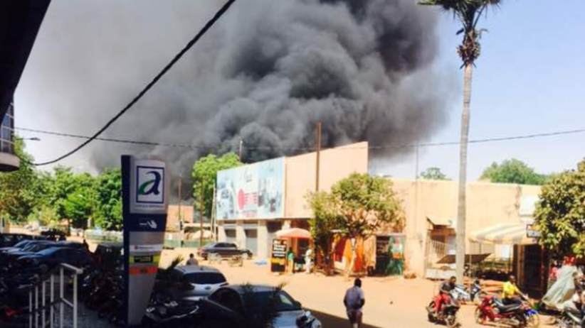 Trwa atak terrorystyczny na francuską ambasadę