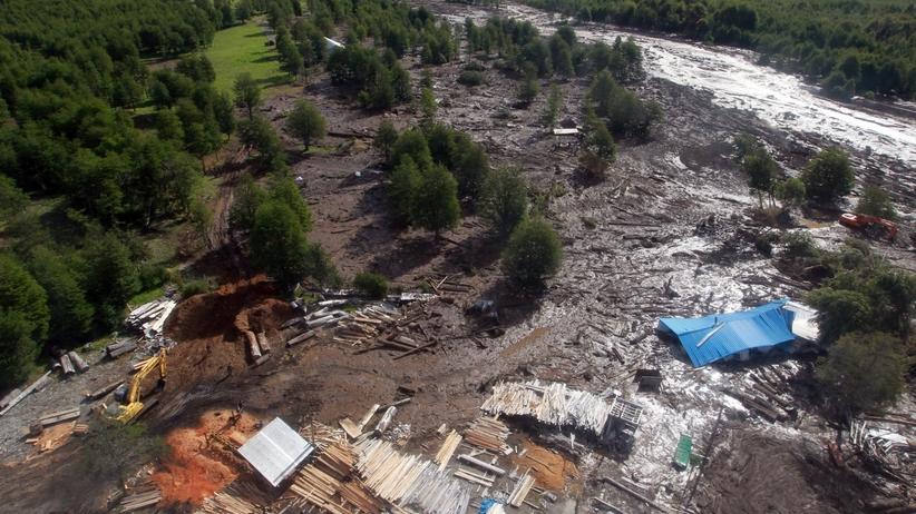 Tragiczne osunięcia ziemi w Chile. Rośnie liczba ofiar [FOTO]