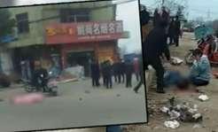 Samochód wjechał w tłum ludzi. Zginęło sześć osób. Policja zastrzeliła kierowcę