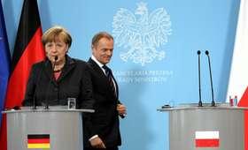 Zaskakująca teoria włoskiej gazety. Merkel może zastąpić Tuska