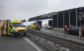 Polski kierowca tira staranował sześć samochodów. 10-latek walczy o życie