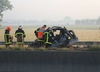 Wypadek polskiej furgonetkiw Calais