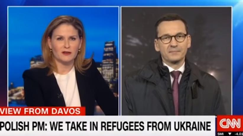 Morawiecki udzielił wywiadu CNN. Nazwał Polskę ''najhojniejszym krajem'' [WIDEO]