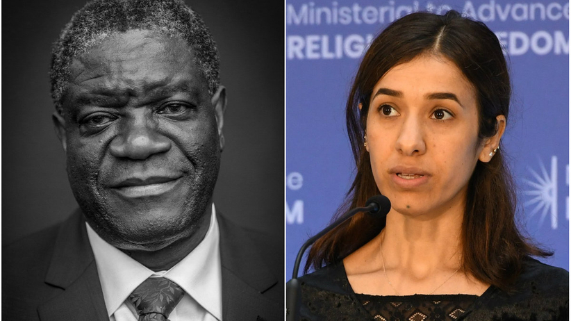 Denis Mukwege i Nadia Murad laureatami Pokojowej Nagrody Nobla