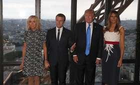 Donald Trump komentuje wygląd Brigitte Macron. Internet szaleje [WIDEO]