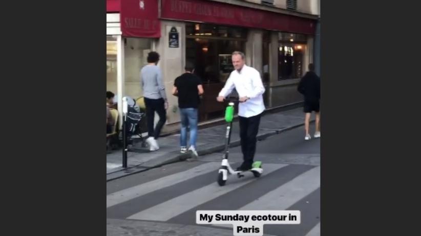 Donald Tusk znów zaskoczył na Instagramie