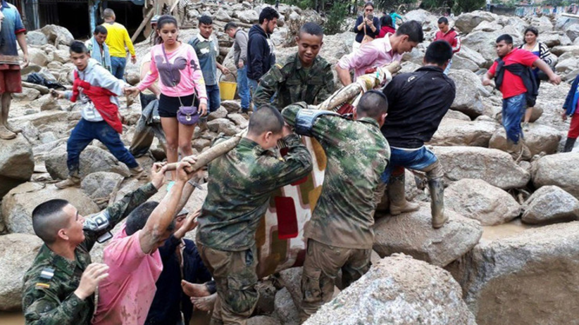 Dramat w Kolumbii! 290 ofiar. Czoło lawiny błotnej miało 4 metry