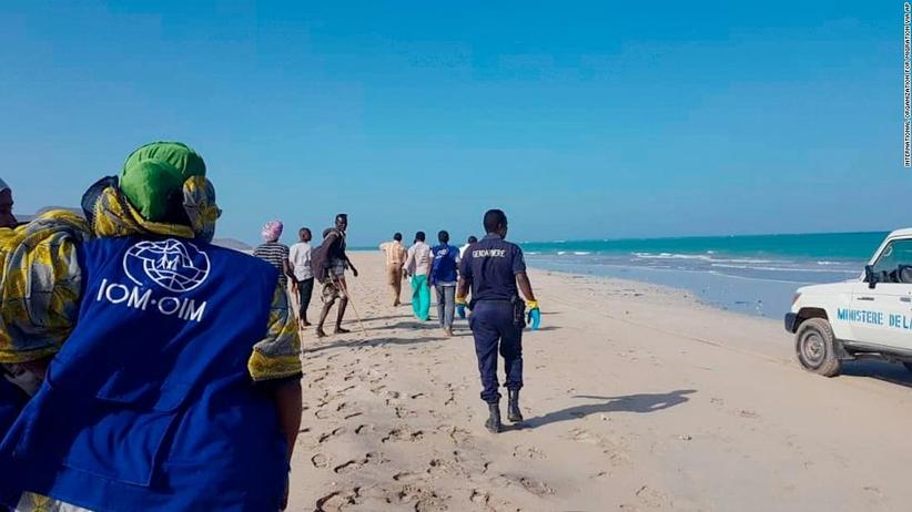 Tragedia u wybrzeży Dżibuti. Znaleziono ciała 38 migrantów