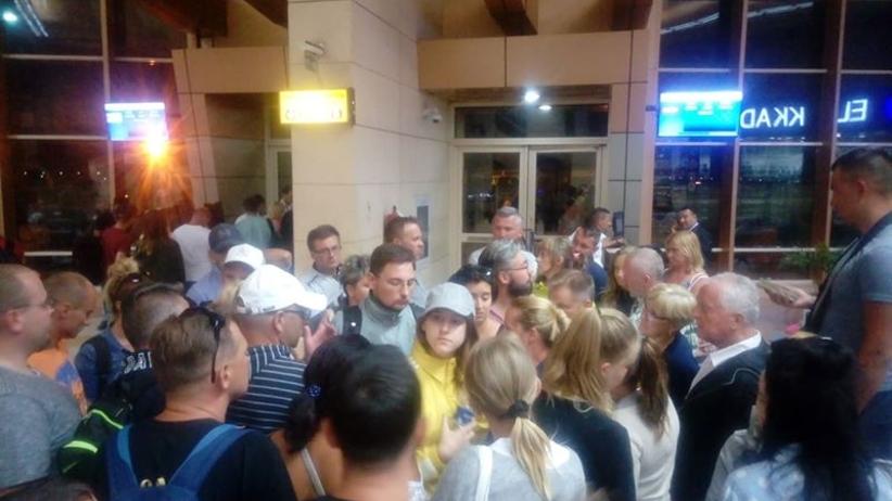 Turyści z Polski utknęli na lotnisku w Egipcie
