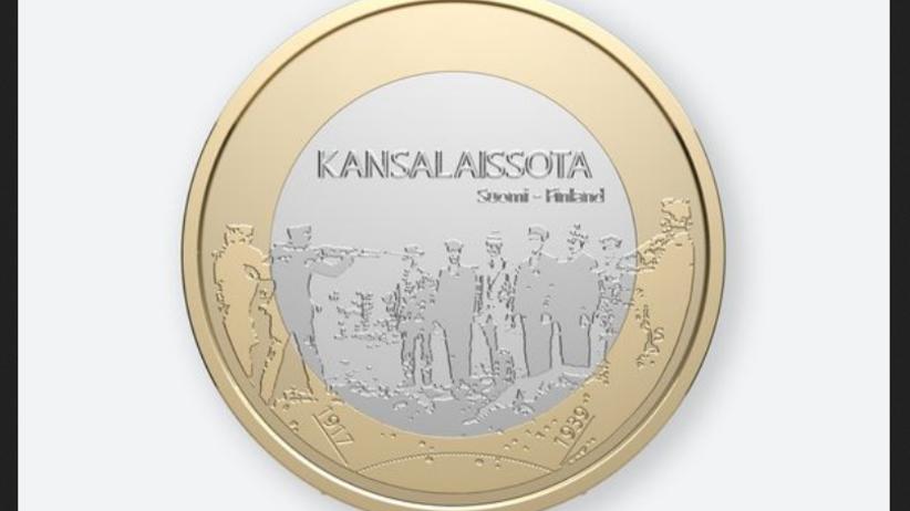 Skandal w Finlandii. Scena z egzekucji na monecie z okazji 100-lecia niepodległości