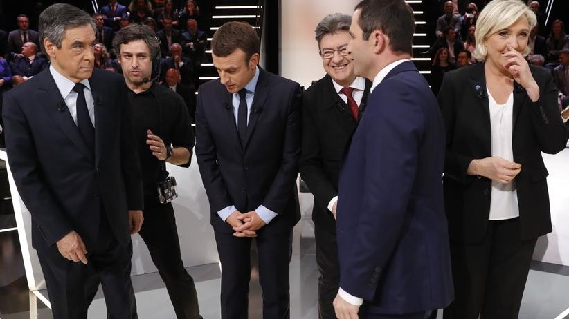 Debata prezydencka we Francji: kto w oczach Francuzów wygrał starcie?
