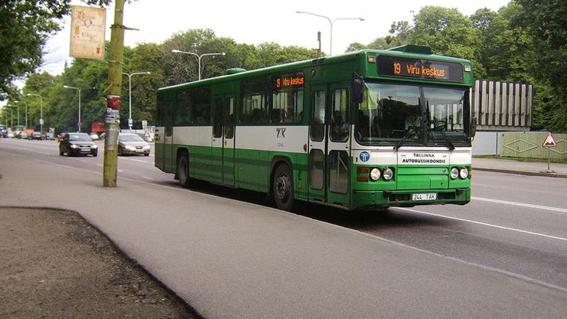 Autobus w Tallinie
