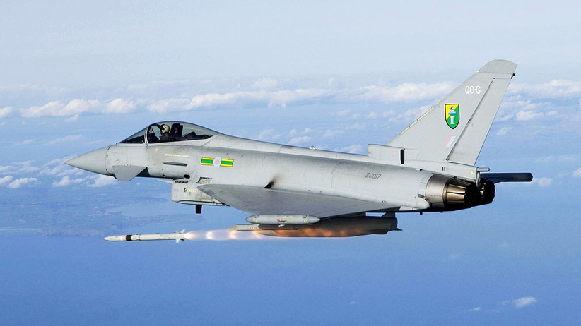 Estonia. Hiszpański myśliwiec wystrzelił pocisk podczas patrolu
