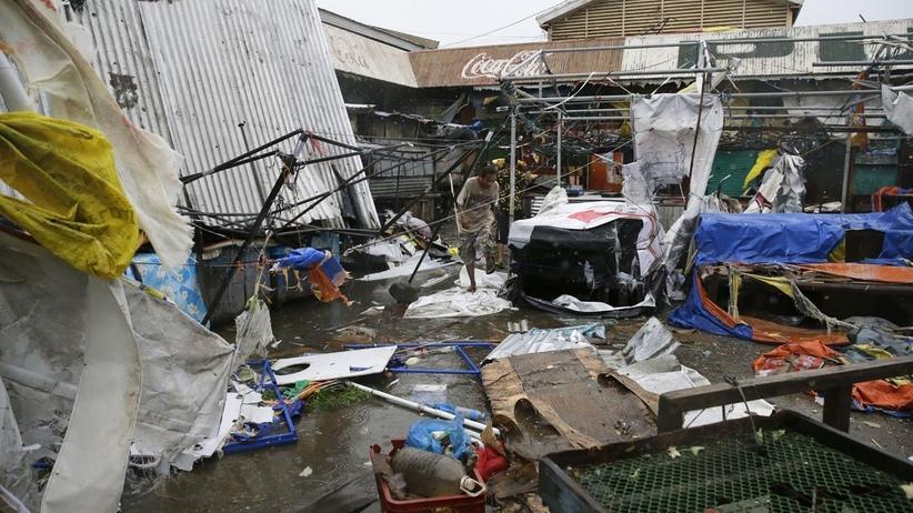 Filipiny. Już co najmniej 12 ofiar tajfunu Mangkhut