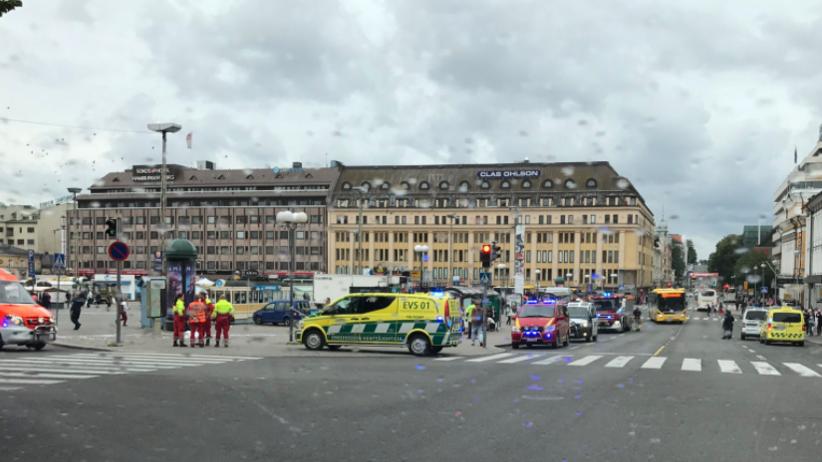 Atak nożownika w Finlandii. Świadkowie mówią o jednej ofierze
