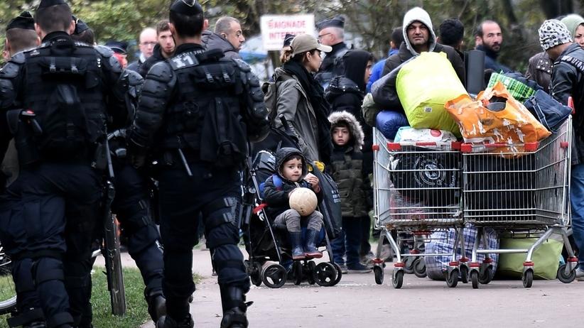 Francja: ewakuacja obozowiska dla migrantów
