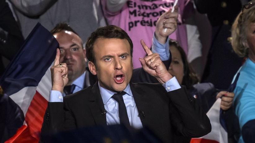 """""""Ten kraj narusza wszystkie unijne zasady"""". Macron opowiada się za sankcjami na Polskę"""