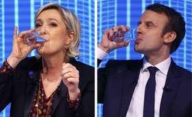 Le Pen o Macronie: kandydat poćwiartowania Francji