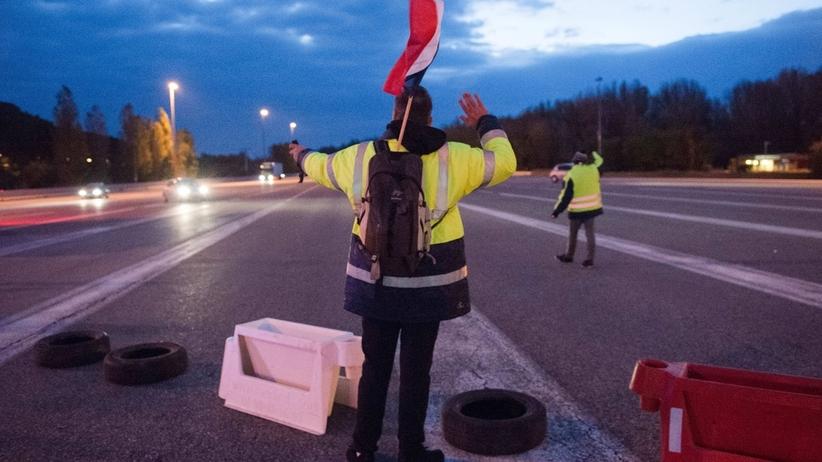 Francja: polski kierowca śmiertelnie potrącił uczestnika blokady
