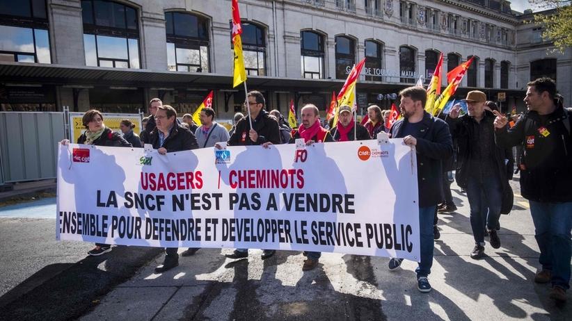Francja: Strajk na kolei kosztował już około 100 mln euro