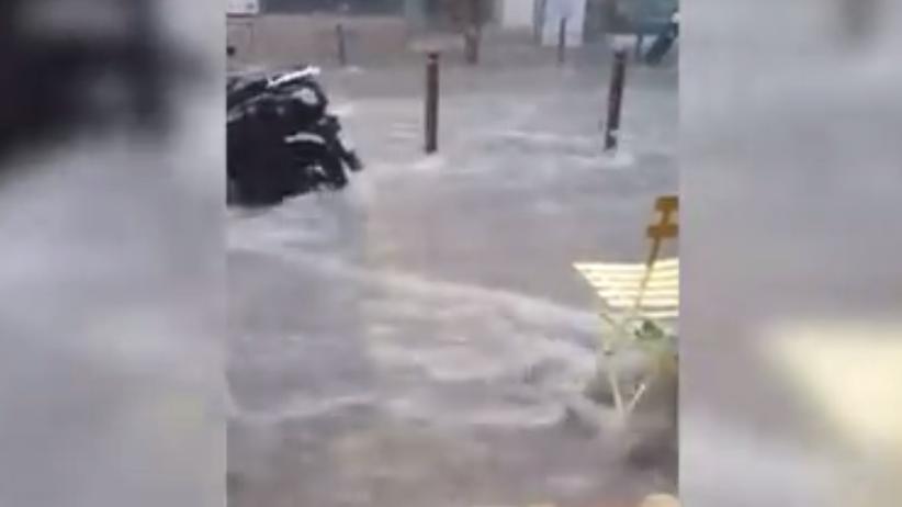 Gwałtowne powodzie we Francji. Ewakuowano 1600 osób