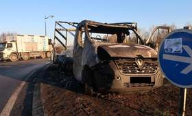 """Francja. Podpalono polską ciężarówkę. Zdaniem świadków winne """"żółte kamizelki"""""""