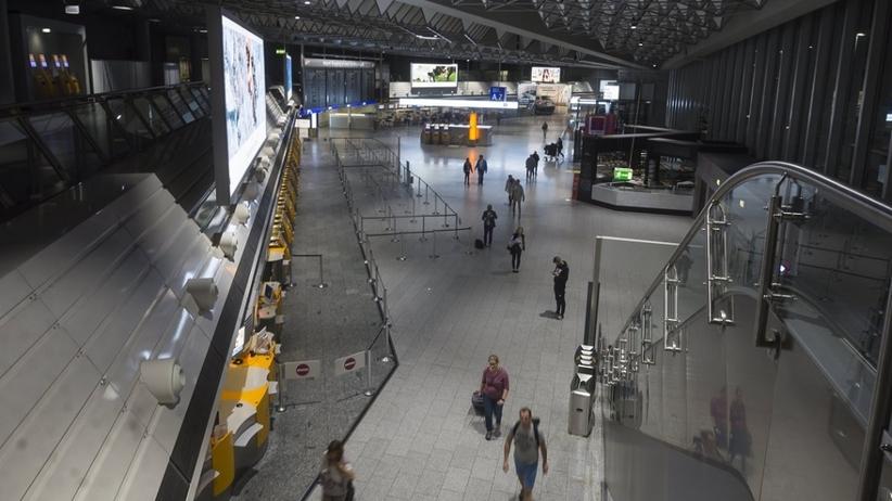Groźnie na lotnisku we Frankfurcie. Atak przy użyciu gazu łzawiącego