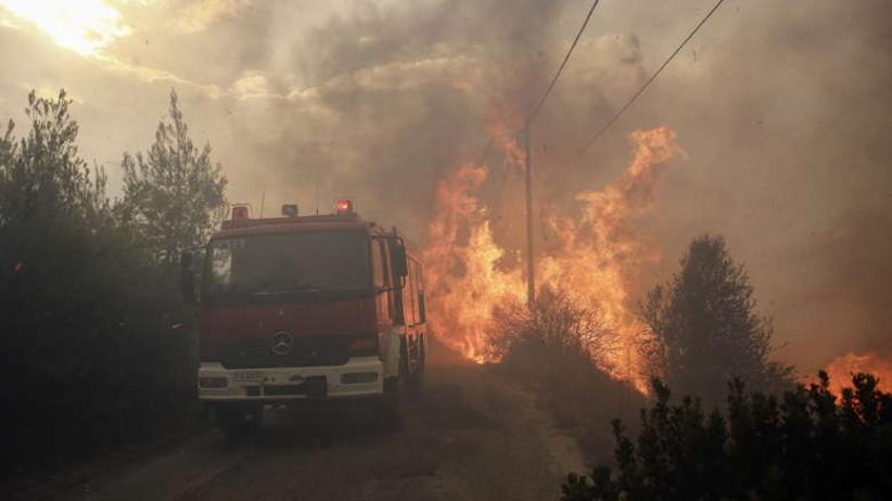 Grecki minister ma szokująca teorię: Pożary w Attyce były spowodowane podpaleniem