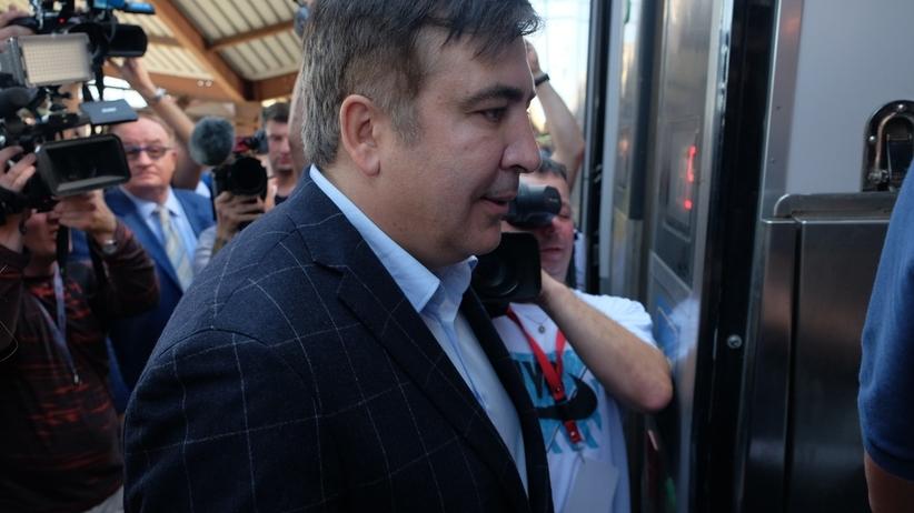 Saakaszwili zaocznie skazany za nadużycie władzy