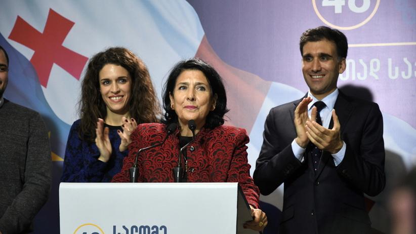 Gruzja. Salome Zurabiszwili wygrała wybory prezydenckie
