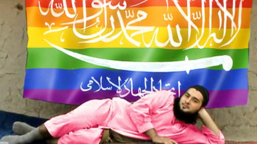 Haker włamuje sięna konta dżihadystów z tzw. Państwa Islamskiego i podmienia im flagi