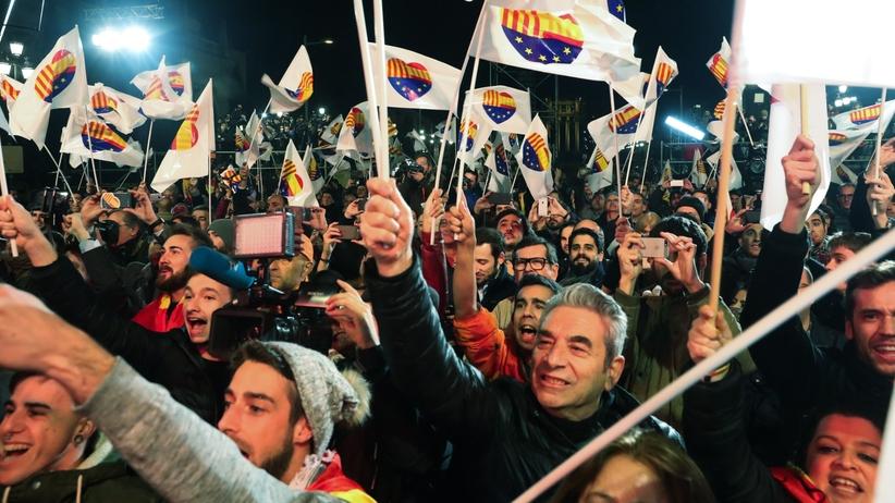 """Wybory w Katalonii: """"Państwo hiszpańskie zostało pokonane"""""""
