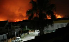 Polka zdradza jak wyglądała ewakuacja z pożaru: Ogień zbliżał się do hotelu