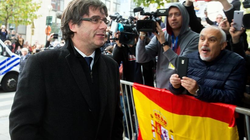 Hiszpania. Trybunał Konstytucyjny zawiesił deklarację niepodległości Katalonii