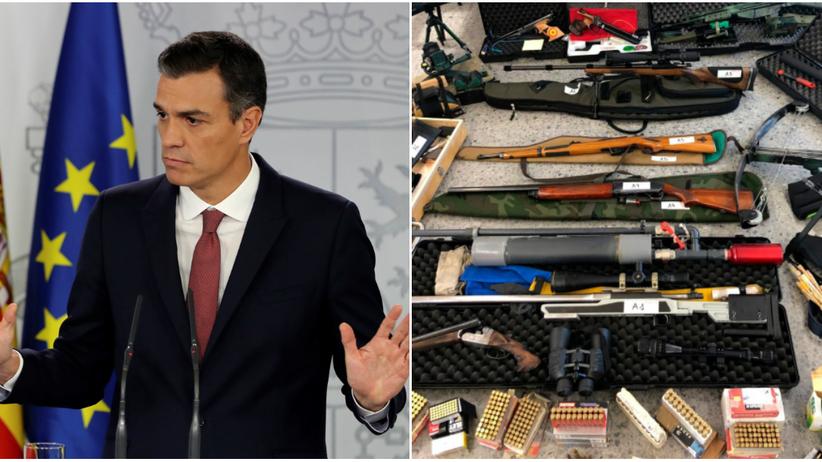 Hiszpania. Zatrzymano snajper, który planował zabić premiera