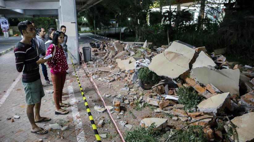 Indonezja. Co najmniej 19 ofiar silnego trzęsienia ziemi na Lombok