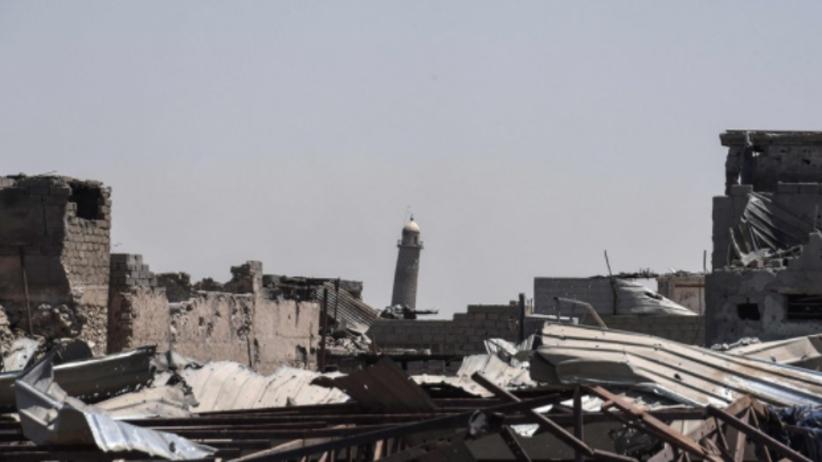 Bojownicy Państwa Islamskiego wysadzili meczet w Mosulu