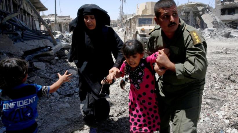 Trwa szturm na ''miasto ISIS''