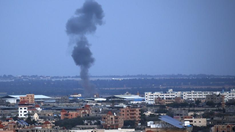 Izrael bombarduje Strefę Gazy [WIDEO]