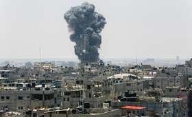 Izrael zbombardował Strefę Gazy. Zginęło dwoje nastolatków