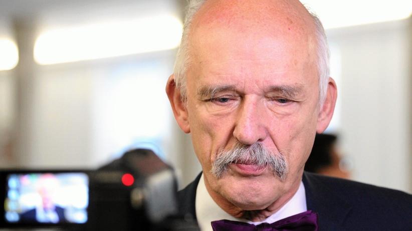 UE: Korwin-Mikke ukarany za obraźliwe komentarze o kobietach