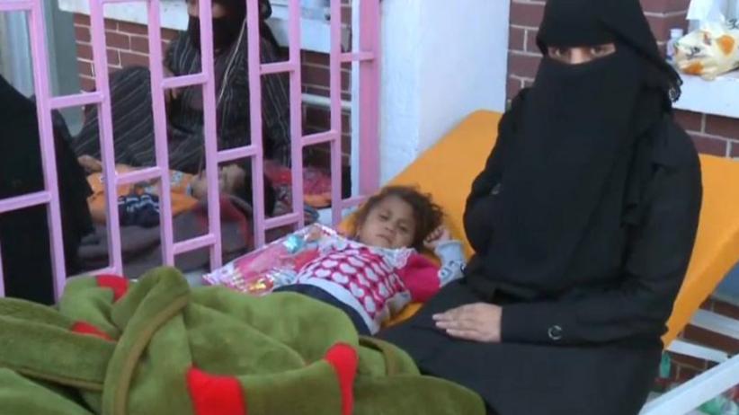 Gigantyczna epidemia cholery. Blisko 500 osób straciło życie