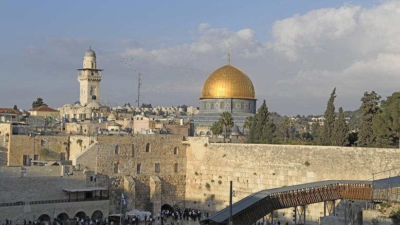 Ściana Płaczu, Jerozolima